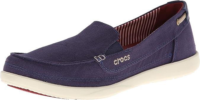 Amazon.com | Crocs Women's Walu Loafer