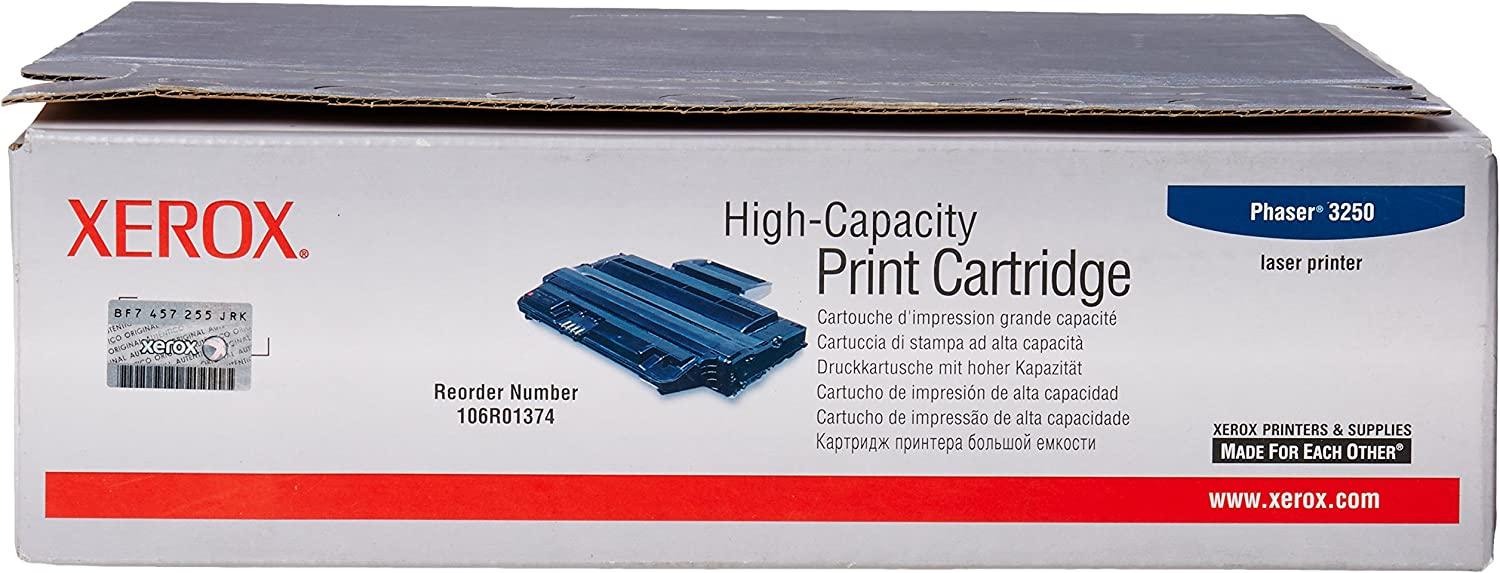 Xerox Phaser 3250 - High Capacity Toner Cartridge (5,000 Pages) - 106R01374