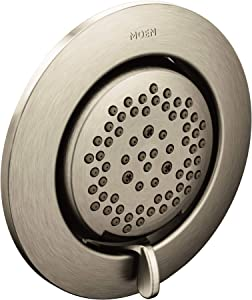 Moen TS1422BN Mosaic Two-Function 3.25-Inch Diameter Head Body Spray Valve Required, Brushed Nickel