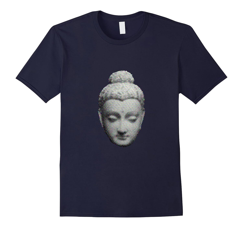 Buddha T-Shirt Buddhist Gift Gautama Art Tee Buddhism Tshirt-Art