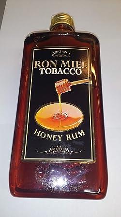 Run Miel Tobacco 1 Litro Botella Plastico 22% Alcohol