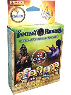 Panini- Metal Box Trading Cards Fantasy Riders 2. La invasión de ...