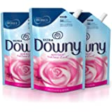 Downy Ultra April Fresh Liquid Fabric Conditioner Smart Pouch, Fabric Softener ,48 Oz, 3 Pack