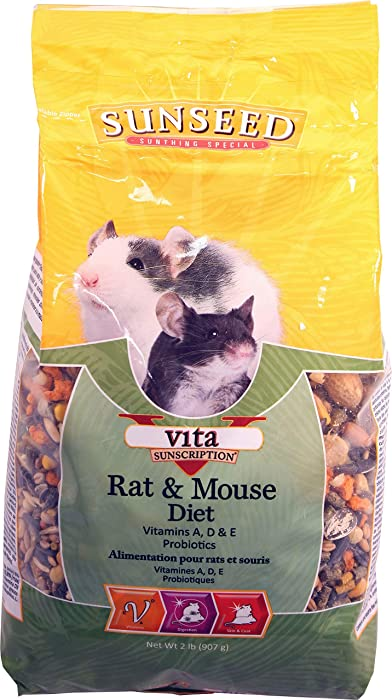 Top 10 Domestic Rat Food
