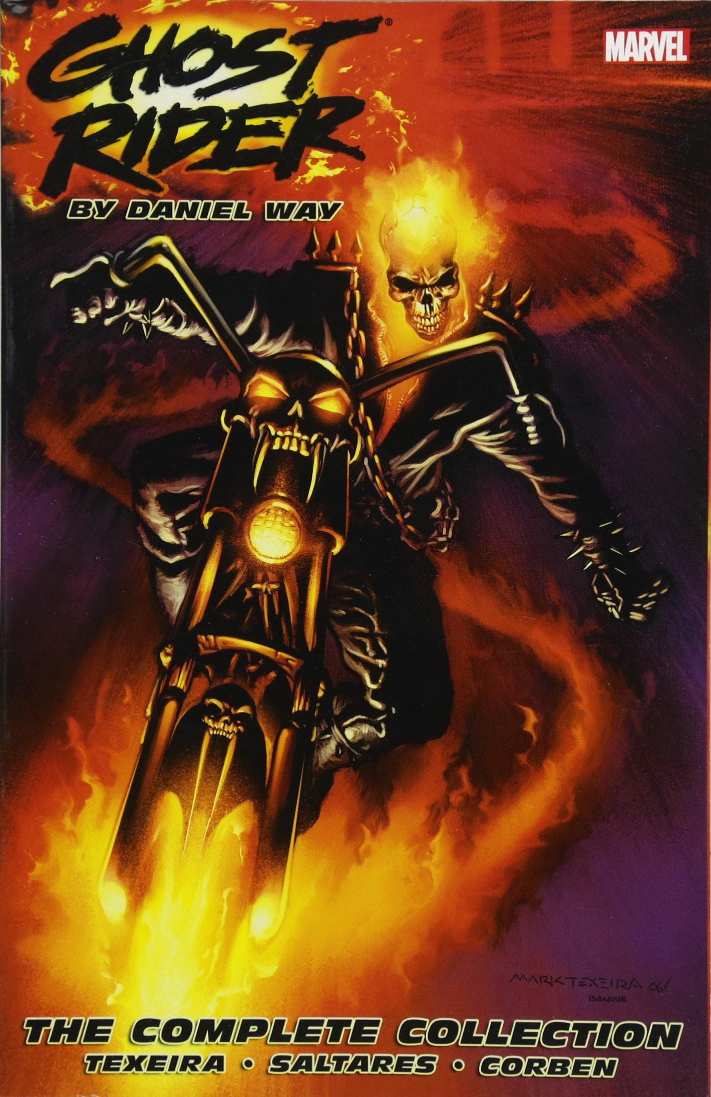 Read Online Ghost Rider by Daniel Way: The Complete Collection pdf