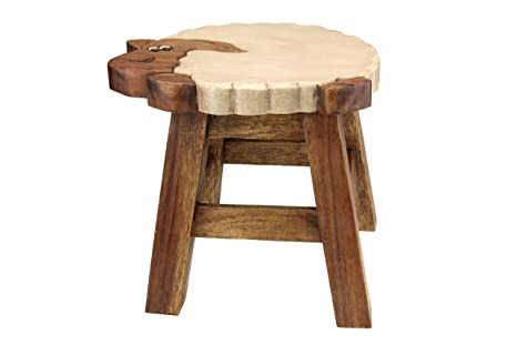 Apollo gardening ltd sgabello in legno per bambini a forma di