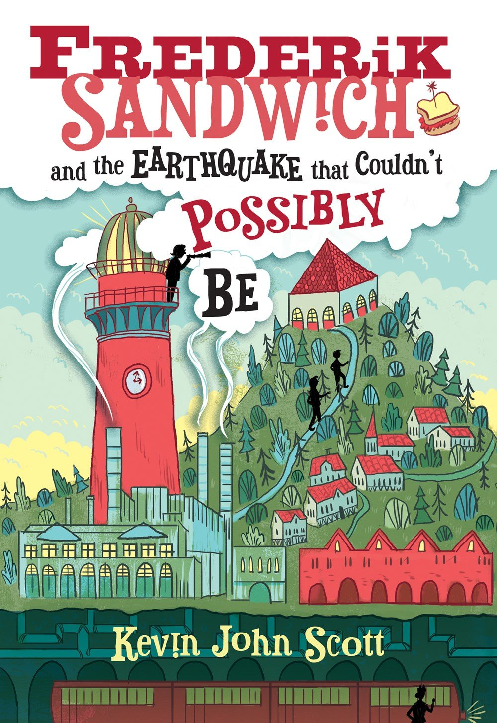Read Online Frederik Sandwich and the Earthquake that Couldn't Possibly Be ePub fb2 book