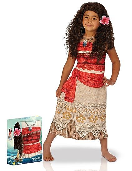 quality products uk store good quality Coffret déguisement Classique Vaiana avec Perruque Fille ...