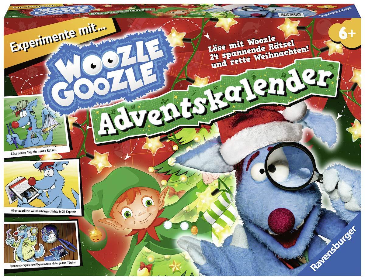 Ravensburger Woozle Goozle 18999 Woozle Goozle Adventskalender 2018 Ravensburger Spielverlag