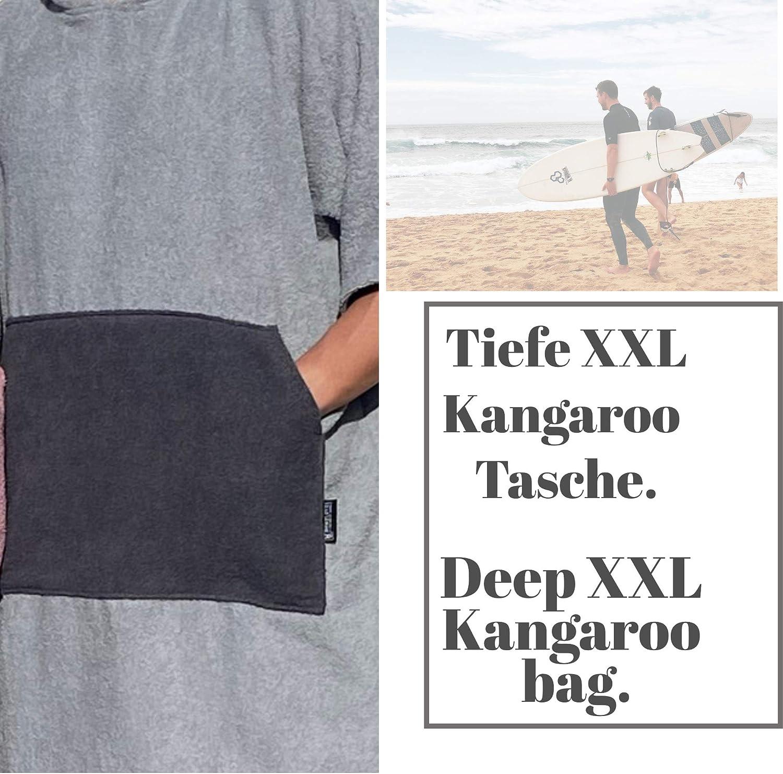 poncho bath towel HOMELEVEL Womens and mens surf poncho 100/% cotton towel cape terry towelling bath towel with hood. beach poncho