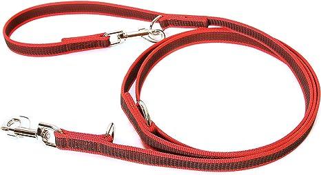 Julius-K9 Correa, Rojo y Gris, 20 mm x 2,2 m: Amazon.es: Productos ...