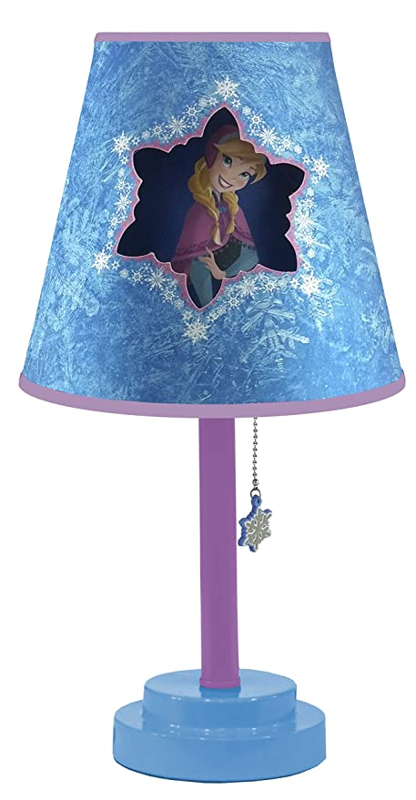 Amazon disney frozen table lamp with die cut lamp shade toys disney frozen table lamp with die cut lamp shade mozeypictures Images