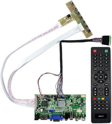 LCD LED Controller Driver Board kit for N173FGE-L21 HDMI+DVI+VGA 1600×900
