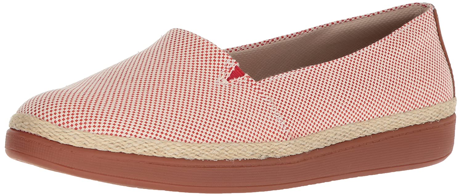 Trotters Women's Accent Ballet Flat B073BWJYLM 7 N US|Red Linen