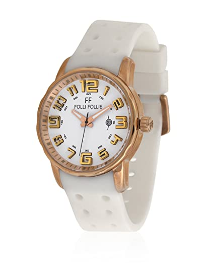 Folli Follie Reloj con movimiento Miyota Woman WF1R042ZDW 45 mm: Amazon.es: Relojes