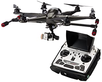 Walkera TALI H500 RTF1 FPV RC Drone Hexacopter with G-3D Brushless Gimbal,  iLook+ Action Camera (Black)