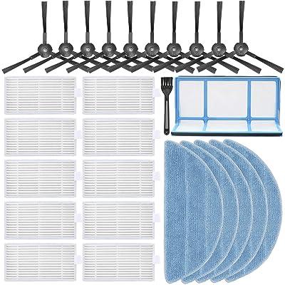Accessories Filter Brush Set For Ilife V3//V3S//V5//V5s Pro Vacuum Cleaner Spare