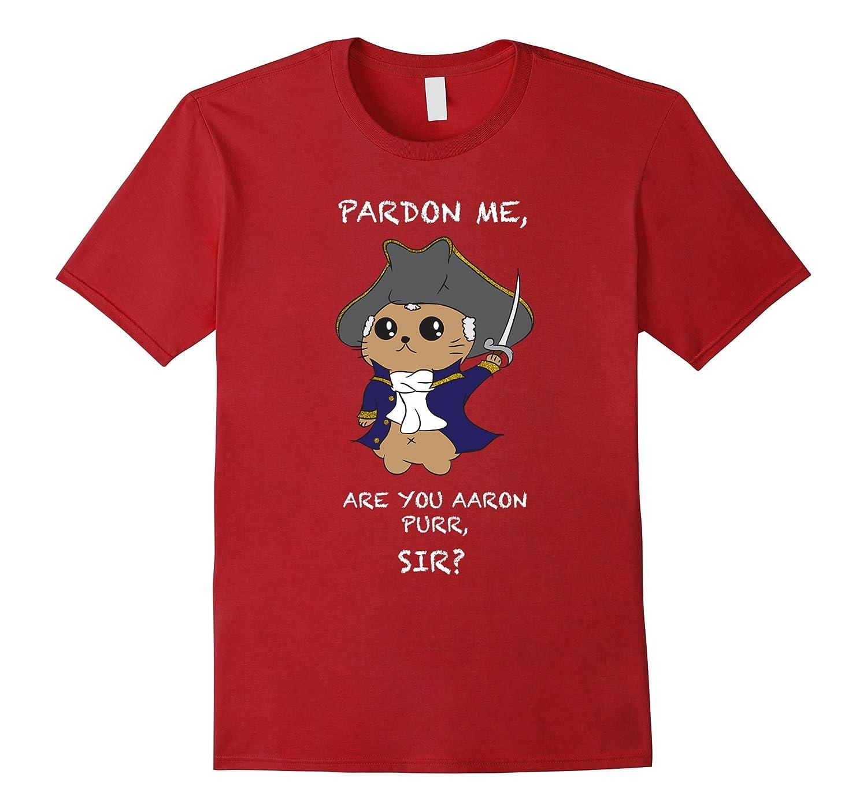 Cute Hamilton Cat T-Shirt-BN