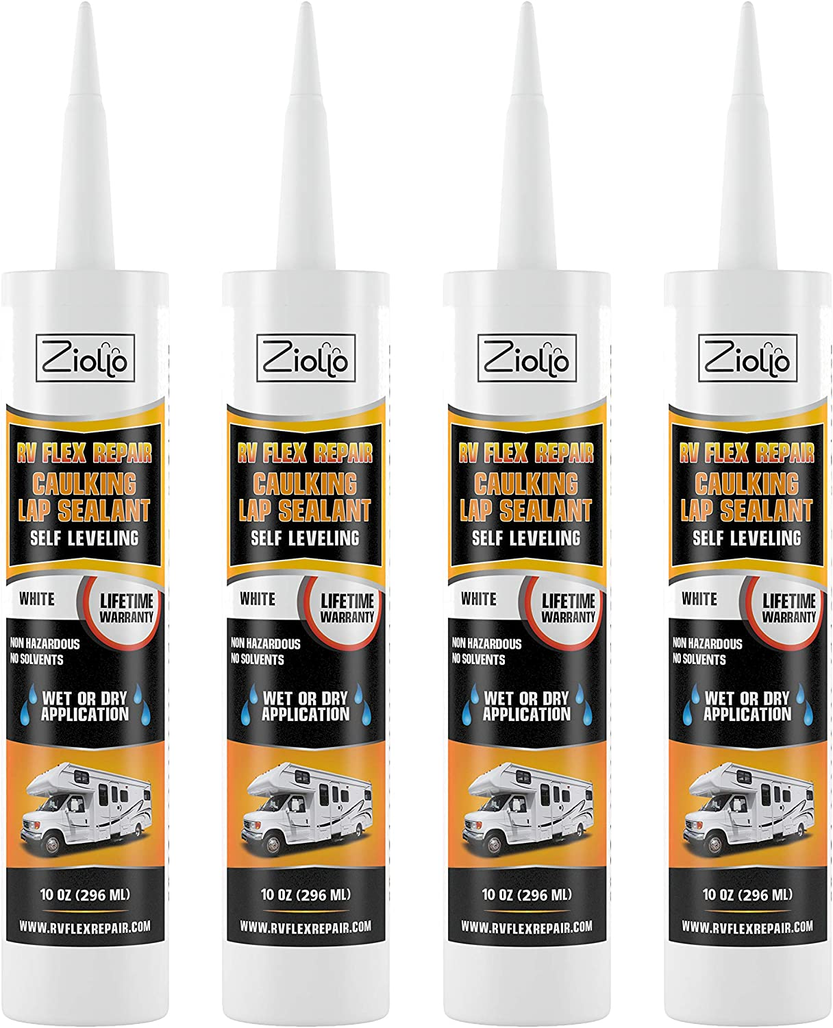 RV Flex Repair Self Leveling Caulking Lap Sealant