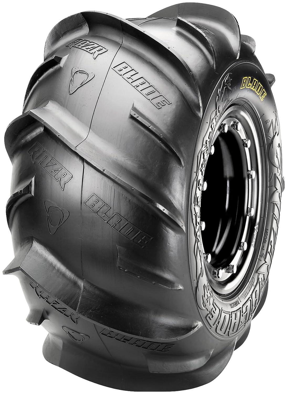 Maxxis MS06 Razr Blade Tire - Rear - Right - 20x11x8, Position: Rear Right, Tire Size: 20x11x8, Tire Construction: Bias, Tire Application: Sand, Rim Size: 8, Tire Ply: 2, Tire Type: ATV/UTV TM00064100