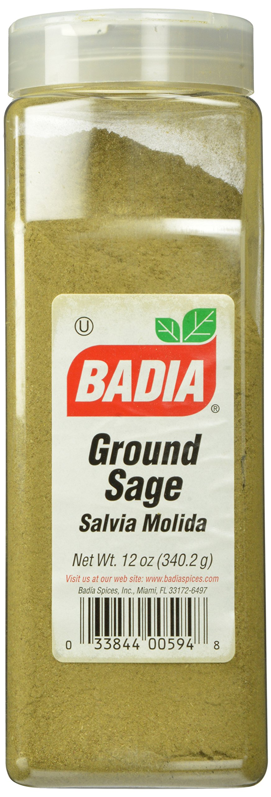 Badia Sage Ground, 12 Ounce (Pack of 6)