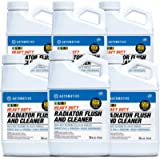 CLR PRO Automotive Heavy Duty Radiator Flush and Cleaner, 24 Ounces (Pack of 6)