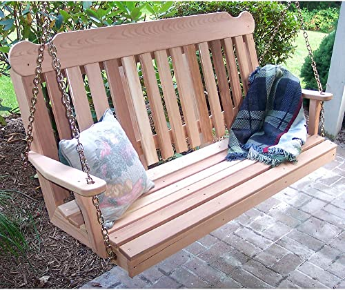 Creekvine Designs 4' Cedar Classic Porch Swing