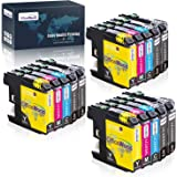 OfficeWorld Compatible Ink Cartridge Replacement for Brother LC103 LC101 LC103XL LC101XL LC103BK LC103C LC103M LC103Y (15 Pac