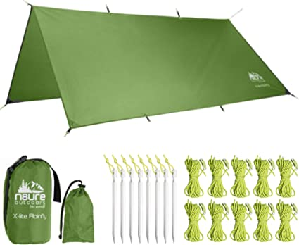 hammock shelter ultra light rainfly ridge light USA edition