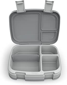 Bentgo Grey Fresh Leak-proof Bento-Style Lunch Box
