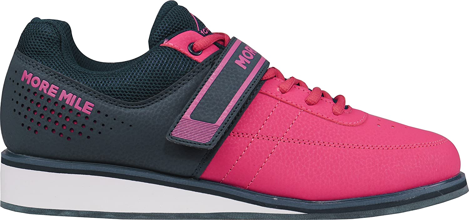 More Mile More Lift 4 Weight Lifting/Cross Fit Shoes - Pink
