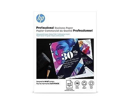 Amazon.com: HP papel folleto, (150hojas, 8.5x 11 ...