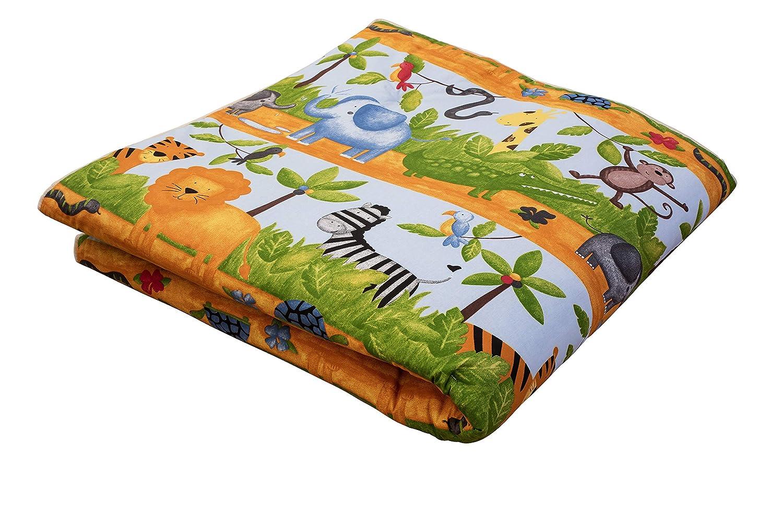 Ideenreich 2258 rastreadores y Spieldecke Rey Manta 150 x 180 cm ardillas color verde