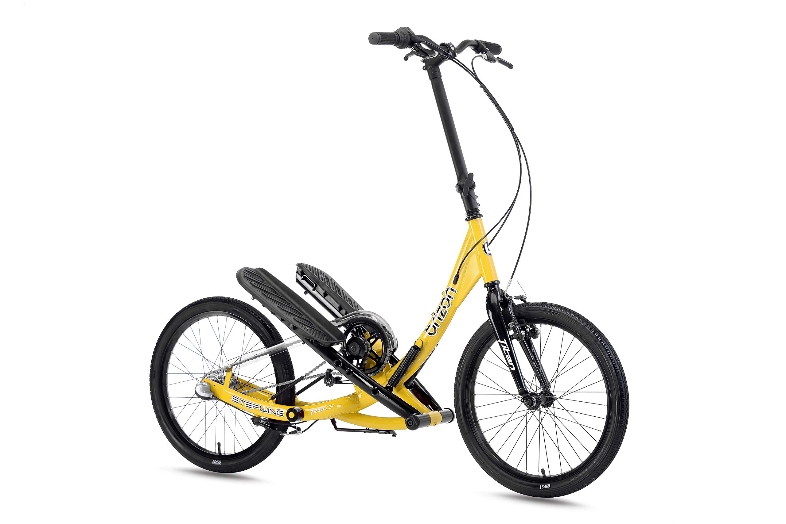 BRIZON Stepwing T3 - Shimano 3 Speeded Geared Stepper Bike, from (Yellow)