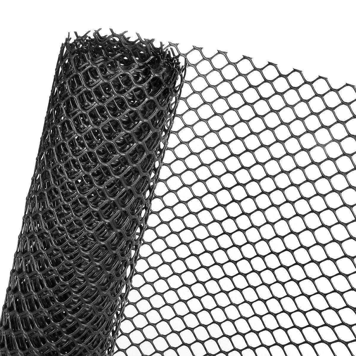 1,3m² RASENSCHUTZGITTER in 1,3m Br., UV-beständig, 600g/m² Gewicht, schwarz (METERWARE) UV-beständig 600g/m² Gewicht Novmax