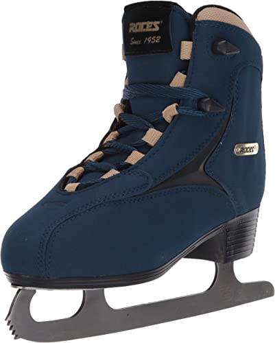 Roces 450617 Women s Model Caje Ice Skate, US 6.5, Blue Gold