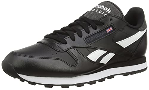 Reebok Classic Leather Pop Sc, Herren Laufschuhe, Black