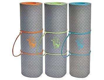 Tapis De Yoga Tapis De Gymnastique Extra épais Et Mm - Carrelage salle de bain et tapis yoga epais