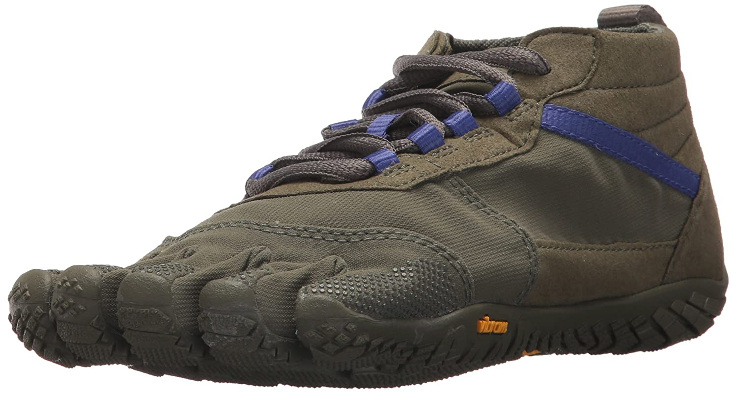 Vibram Women's V-Trek Black/Gum Trail Running Shoe B072N5B4Q2 42 EU/9-9.5 M US B EU (42 EU/9-9.5 US US)|Military/Purple