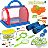 Epeolatry Outdoor Explorer Set, Upgraded 2020 Nature Exploration Kit for Kids with Binoculars, Compass and Butterfly Net Grea
