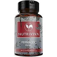 NUTRIVIVA FERMACOL Retard 30 compresse da 1000 mg a base di riso rosso fermentato | Titolato al 3% in MONACOLINA K | Contro assorbimento di grassi