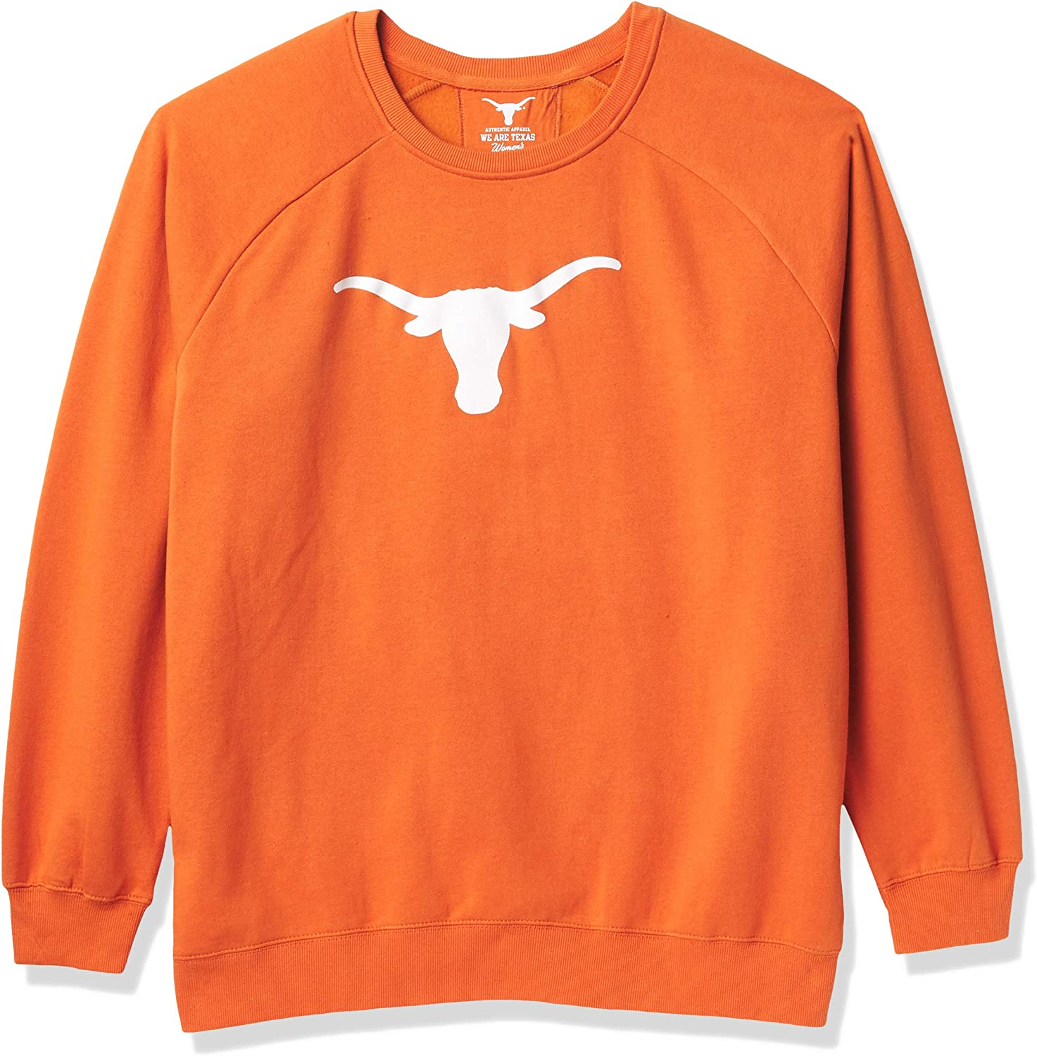 University of Texas Authentic Apparel NCAA Womens Texas Silhouette Pullover
