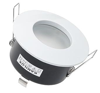 GU10 230V 7W DIMMBAR POWER LED COB Badezimmer LED Bad Einbaustrahler Aqua IP65
