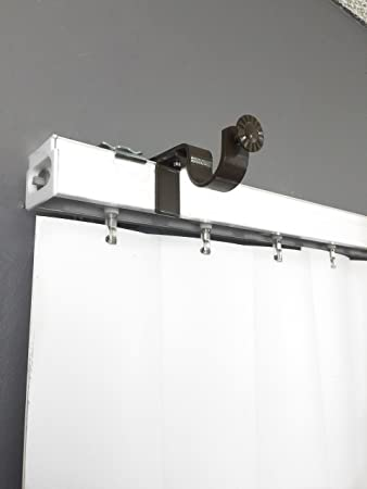 Amazon.com: NoNo Bracket - Curtain Rod Bracket attachment for ...