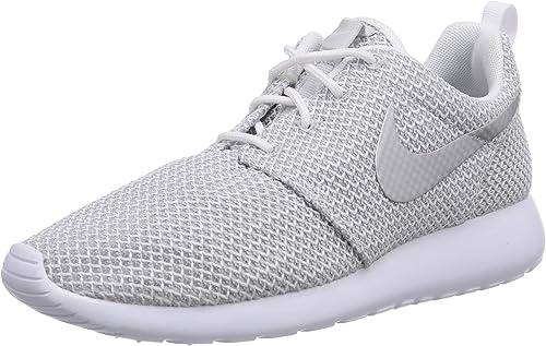 Nike Roshe One Damen Sneakers, Weiß (WhiteMetallic Platinum