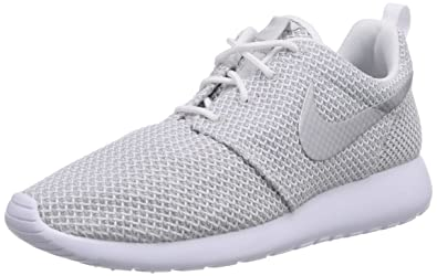 Nike Roshe One Damen Sneakers, Weiß (White/Metallic Platinum 103), 41