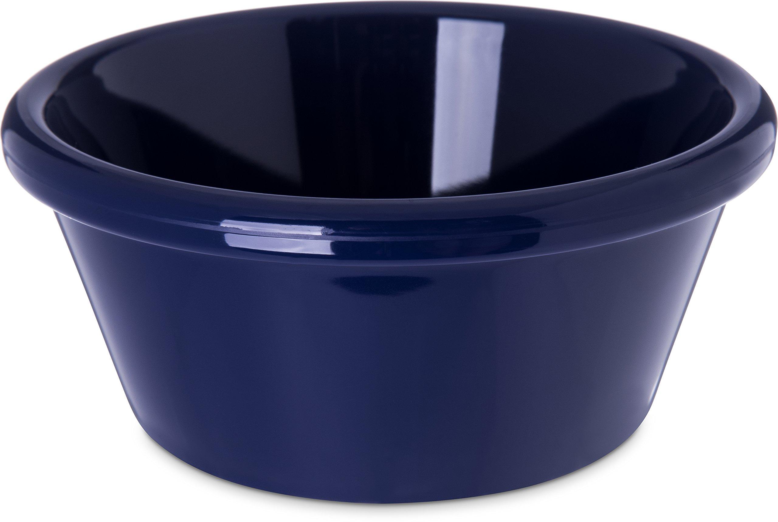Carlisle 4312660 SAN Smooth Ramekin, 6 oz Capacity, 1.80'' x 3.90'', Cobalt Blue (Case of 48)