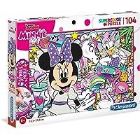 Clementoni 20154 Yapboz Mücevher, Disney Minnie, 104 Parça