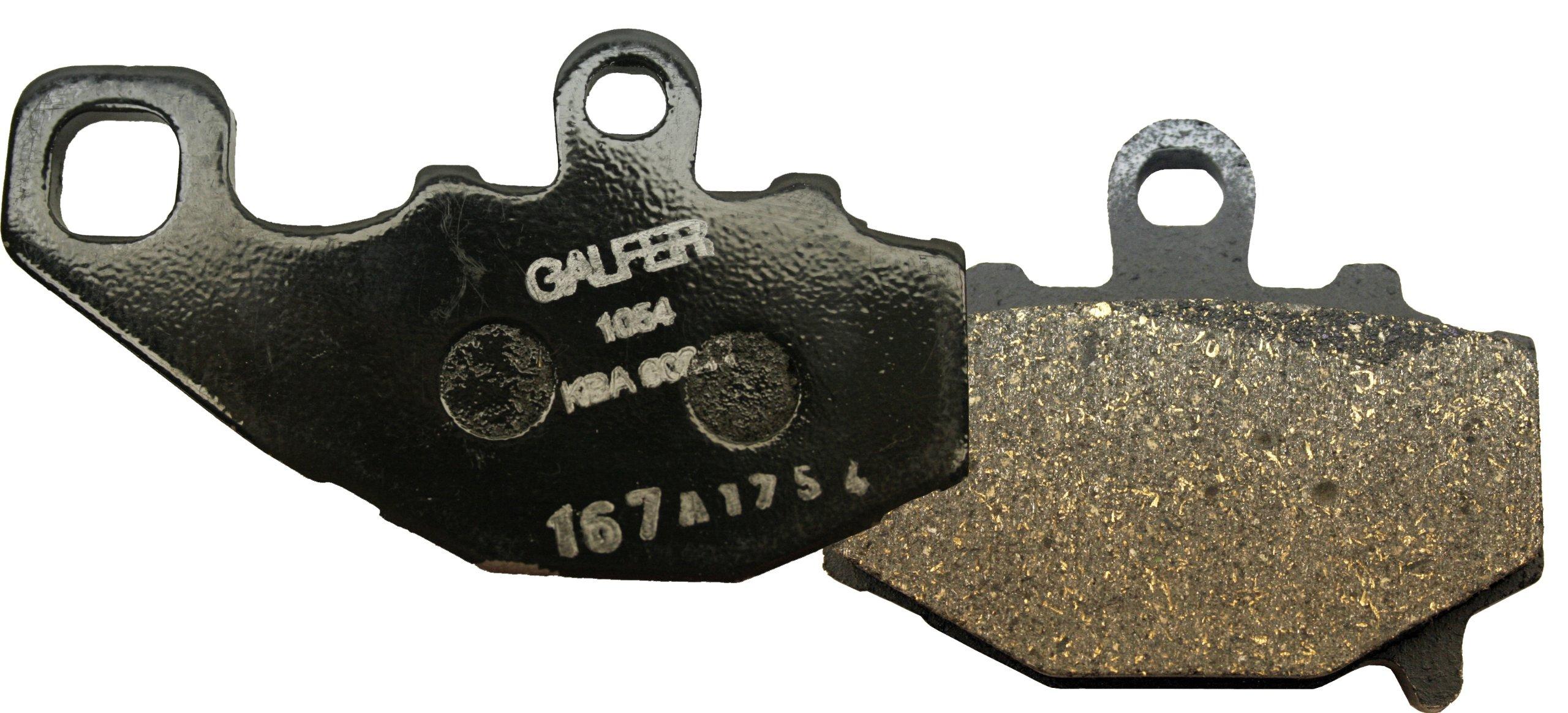 Galfer FD156G1054 Semi-Metallic/Organic Brake Pad