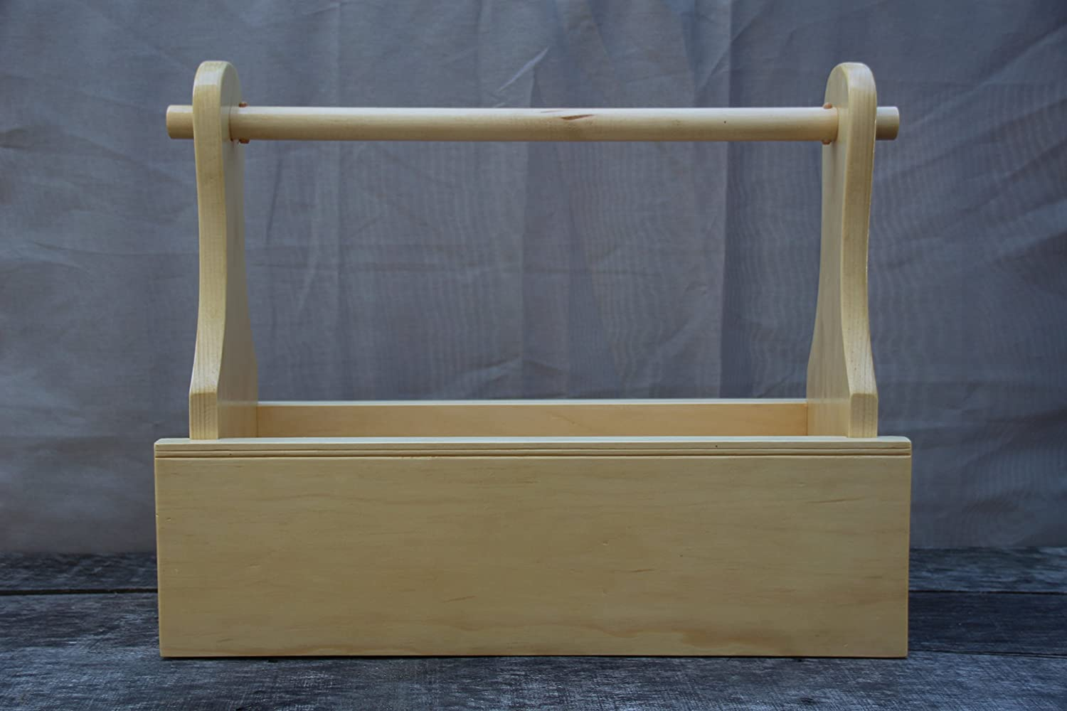 Handmade Wood Utility/Garden/Tool Tote. What a great Design! One of my Favorites for sure...